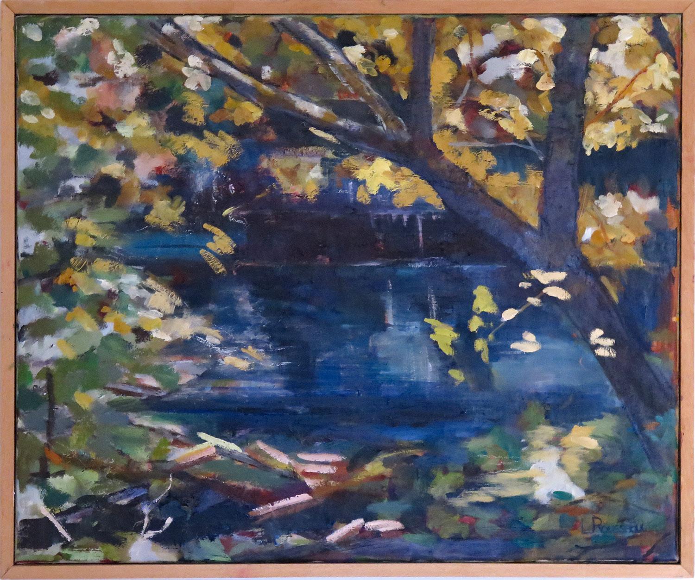 L'Aqueduc de Roquefavour - huile sur toile - 65x54