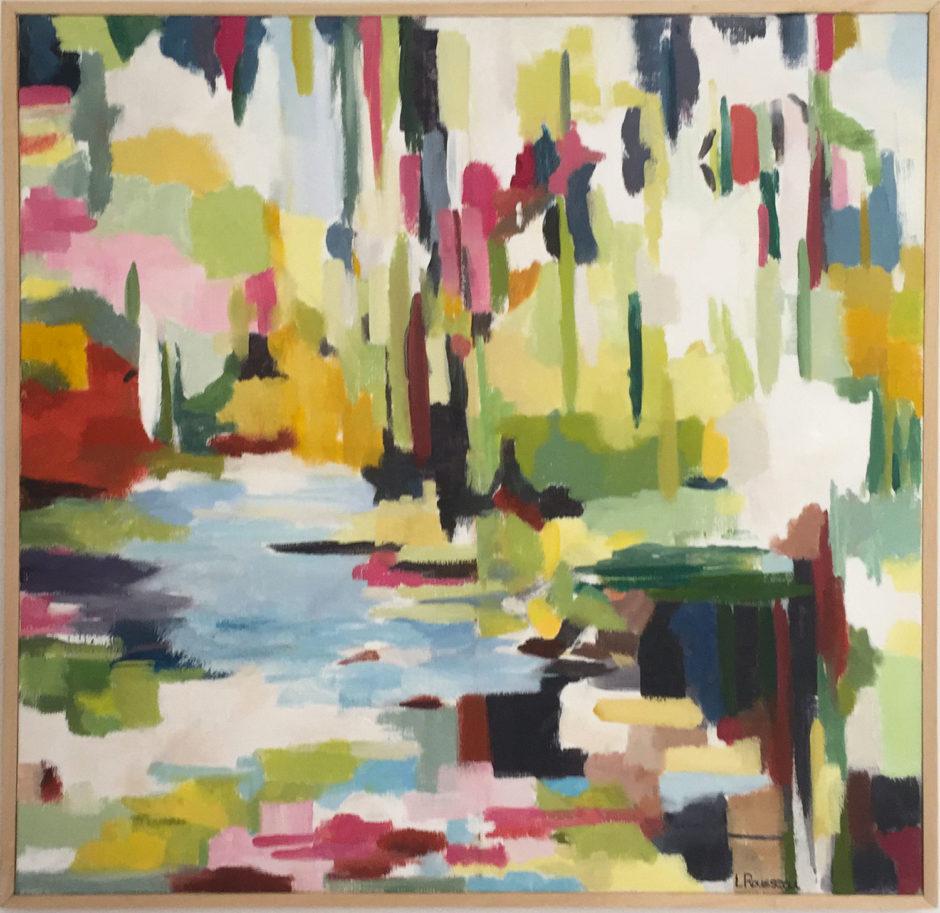 Sweet-Dreams, huile sur toile, 60x60